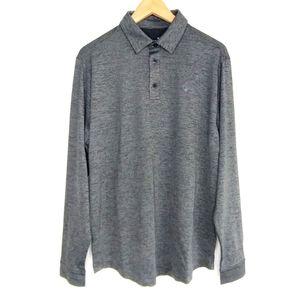 NWT Under Armour Heatgear Long Sleeve Polo Shirt